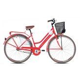 Ženski bicikl CAPRIOLO Amsterdam Lady, vel.18˝, kotači 28˝, crveni