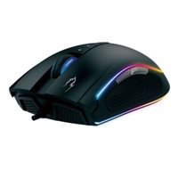 Miš GAMDIAS ZEUS M1, optički, 7000dpi, RGB, crni, USB