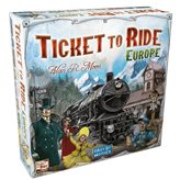 Društvena igra TICKET TO RIDE - Europe