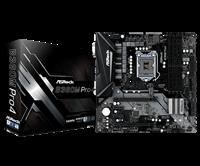 Matična ploča ASROCK B360M Pro4, Intel B360, DDR4, zvuk, G-LAN, SATA, M.2, PCI-E 3.0, CrossFireX, HDMI, DVI-D, D-Sub, USB 3.1, ATX, s. 1151