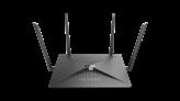 Wireless router D-LINK DIR-882, EXO AC2600 DualBand, G-WAN 1-port, G-LAN 4-port, 4x antena, USB 3.0, bežični