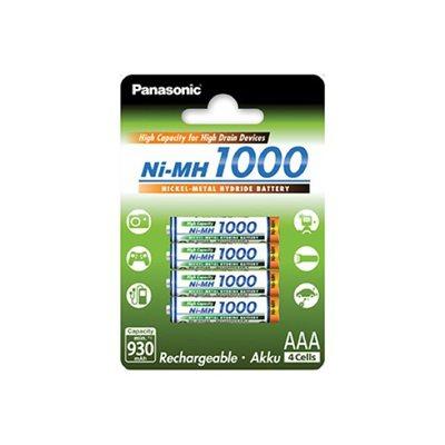 Baterija PANASONIC Eneloop BK4HGAE4BE, tip AAA, punjive, 930mAh, 4kom