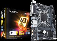 Matična ploča GIGABYTE H310M DS2, Intel B310, DDR4, G-LAN, SATA, PCI-E 3.0, D-Sub, USB 3.1, mATX, s. 1151