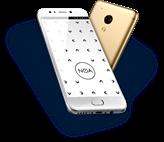 "Smartphone NOA N2, 5"" FHD multitouch, QuadCore MTK6737T 1.5GHz, 3GB, 32GB Flash, Dual SIM, BT, 4G/LTE, kamera, Android 7.0, zlatni"