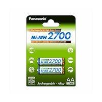 Baterija PANASONIC BK3HGAE2BE, tip AA, 2700mAh, punjive, 2kom