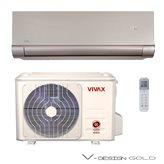 Klima uređaj VIVAX ACP-12CH35AEVI GOLD- inv., Hlađenje 3,52 kW, Grijanje 3,81 kW, Ekološki plin R410A, Energetska klasa A++/A+