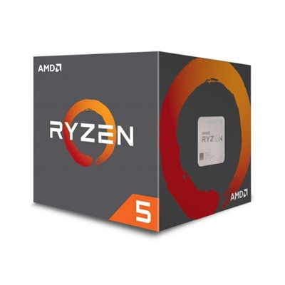 Procesor AMD Ryzen 5 2600 BOX, s. AM4, 3.4GHz, 19MB cache, Six Core, Wraith Stealth - preorder