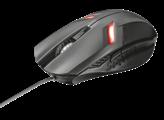 Miš TRUST Ziva Gaming, optički, LED, 2000dpi, USB, crni