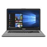 "Prijenosno računalo ASUS VivoBook Pro 17 N705UD-GC130T / Core i7 8550U, 8GB, 1000GB + 128GB SSD, bez DVD, GTX1050 (4GB), 17.3"" FHD, HDMI, USB 3.1, Windows 10, sivo"