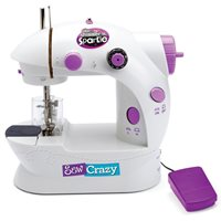 Igračka CRAZART, Sew Crazy Sewing Machine, šivaća mašina