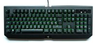 Tipkovnica RAZER BlackWidow Ultimate, Green Switch, vodootporna, SLO layout, crna, USB