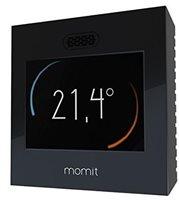 Pametni termostat MOMIT Home, EU boxing, crni