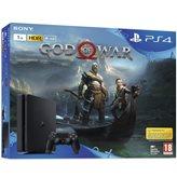 Igraća konzola SONY PlayStation 4, 1000GB, E Chassis, God of War, crna