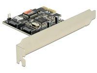 Kontroler PCI-E, DELOCK, 2x unutarnji SATA 3Gb/s, RAID