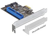 Kontroler PCI-E, DELOCK, 2x unutarnji SATA 6Gb/s, 1x unutarnji IDE