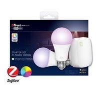 Smart set TRUST ZigBee 2 RGB žarulje + Z1 ZigBee Bridge ZRGB2-Z1R
