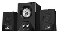 Zvučnici GENIUS SW-G2.1 500, 2.1, 15W, crni