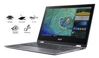 "Prijenosno računalo ACER Swift 1 SP111-32N-P9DQ NX.GRMEX.011 / QuadCore N4200, 4GB, 64GB eMMC, HD Graphics, 13.3"" multitouch FHD, kamera, HDMI, USB 3.0, Windows 10S, sivo"