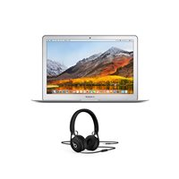 Prijenosno računalo APPLE MacBook Air 13'' mqd32cr/a / DualCore i5 1.8GHz, 8GB, SSD 128 GB, Iris Plus Graphics, HR tipkovnica, srebrno + Slušalice BEATS EP, crne