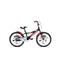 Dječji bicikl CAPRIOLO Mustang, kotači 20˝, crno/crveni