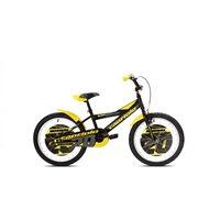 Dječji bicikl CAPRIOLO Mustang, kotači 20˝, crno/žuti