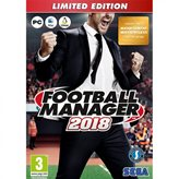 Igra za PC, Football Manager 2018 Limited Edition