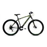 Muški bicikl CAPRIOLO Oxygen 26, Shimano Tourney, vel. rame 22˝, kotači 29˝, crno/zeleni