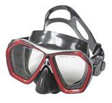 Maska za ronjenje EXTREME SUB 294, silikon, kaljeno staklo, crvena
