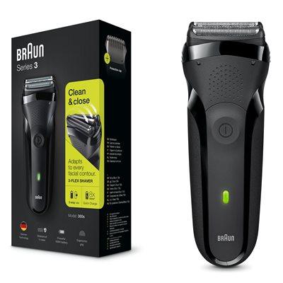 Aparat za brijanje BRAUN 300  CRNI