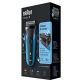 Aparat za brijanje BRAUN 310  CRNO/PLAVI