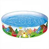 Bazen BESTWAY, Dinosaurous Fill 'N Fun Pool, 183x183x38cm, 946l