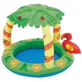 Bazen BESTWAY, Friendly Jungle Play Pool, 99x91x71cm, 26l, na napuhavanje