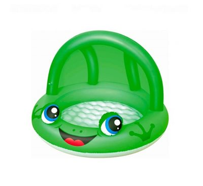 Bazen BESTWAY, Shaded Play Pool, 97x97x66cm, 26l, na napuhavanje, zeleni