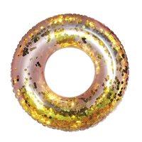 Kolut za plivanje EASY FLOAT, Glitter, šareni, 102cm, na napuhavanje