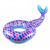 Kolut za plivanje EASY FLOAT, Sirena, 180x110cm, na napuhavanje