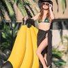 Madrac EASY FLOAT, Banana, 139x129cm, na napuhavanje