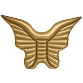 Madrac EASY FLOAT, Krilo, 220x240cm, zlatno, na napuhavanje