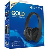 Slušalice SONY Wireless Gold, PS4 kompatibilne, bežične, crne