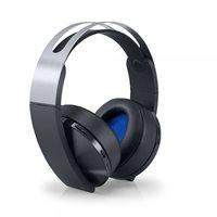 Slušalice SONY Wireless Platinum, PS4 kompatibilne, bežične, crne