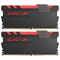 Memorija PC-17000, 16 GB, GEIL EVO X Black GEXB416GB2133C15DC, DDR4 2133MHz, kit 2x8GB