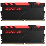 Memorija PC-19200, 16 GB, GEIL EVO X Black GEXB416GB2400C16DC, DDR4 2400MHz, kit 2x8GB
