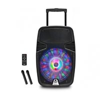 Karaoke iDANCE Groove 420mk3, 500W, disco LED, FM, bluetooth, 2x bežični mikrofon, crne