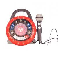 Party box iDANCE, I AM THE STAR, zvučnik, mikrofon, bluetooth, crni