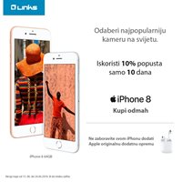 Picture of Iskoristi 10% u 10 dana i ugrabi iPhone 8!