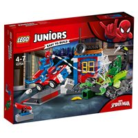 LEGO 10754, Juniors, Spider-Man vs. Scorpion Street Showdown, ulični obračun Spider-Mana i Scorpiona