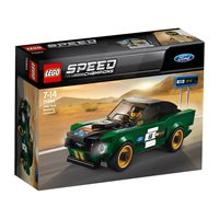 LEGO 75884, Speed Champions, 1968 Ford Mustang Fastback