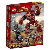 LEGO 76104, Marvel Super Heroes, The Hulkbuster Smash-Up, razbijanje s Hulkbusterom