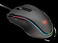 Miš TRUST GXT 188 Laban RGB, optički, gaming, 15000dpi, crni