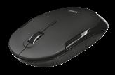Miš TRUST Silent Click, optički, 1600dpi, bežični, crni, USB