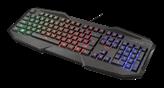 Tipkovnica TRUST GXT 830-RW Avonn, Gaming, crna, USB